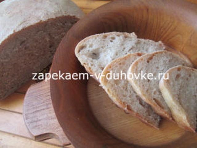 Хлеб пшенично-цельнозерновой на холодной опаре