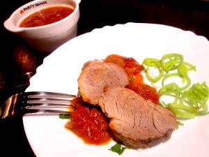 Свинина в кисло-сладком соусе в фольге