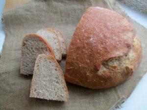 Хлеб на спелом тесте от Ришара Бертине