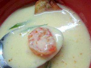 Суп карри с креветками