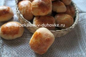 Пирожки с капустой из творожного бездрожжевого теста