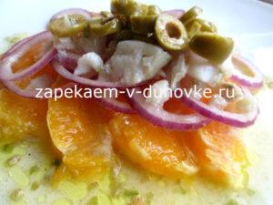 Салат из трески.Испанский рецепт