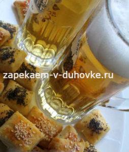 Немецкое сметанное печенье к пиву