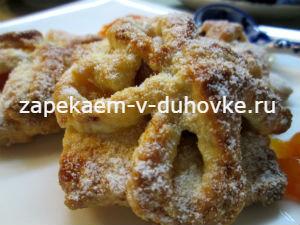 Венское печенье с ромовыми фруктами