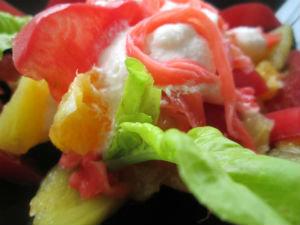 фруктовый салат в восточном стиле