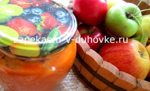 Пряный кетчуп с яблоками томатами и карри