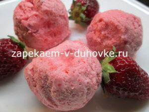 Рецепт: Ягодный сорбет в домашних условиях из замороженных ягод