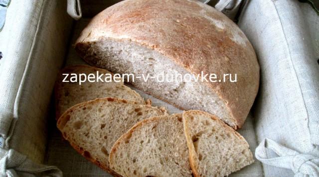 Хлеб цельнозерновой в духовке