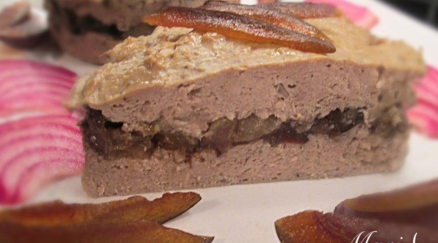 Паштет мясной запеченный со сливами
