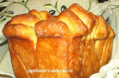 сдобный хлеб из ломтиков