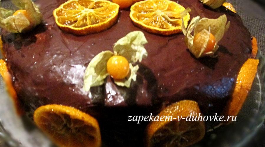 Торт маковый со сгущенкой
