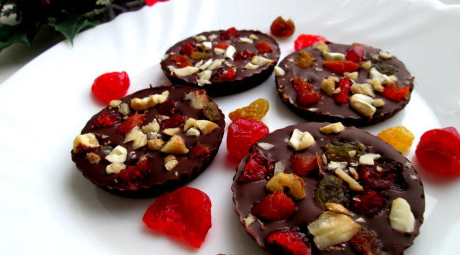 шоколадные провансальские мендианты