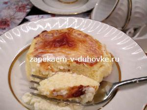 Сырники запеченные в сметанной заливке