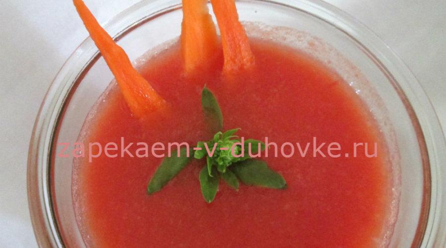 морковный смузи с цветной капустой