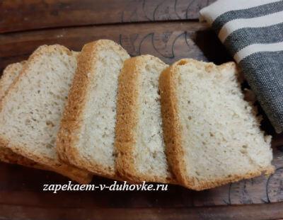 французский хлеб с чесноком и травами