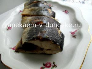 Скумбрия в горячем маринаде за 5 минут