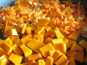 Суп - пюре из тыквы апельсина и моркови