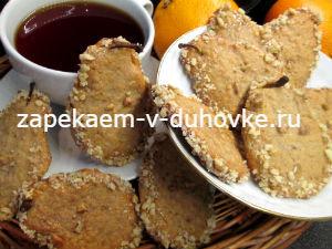 Печенье из груш с ароматом корицы