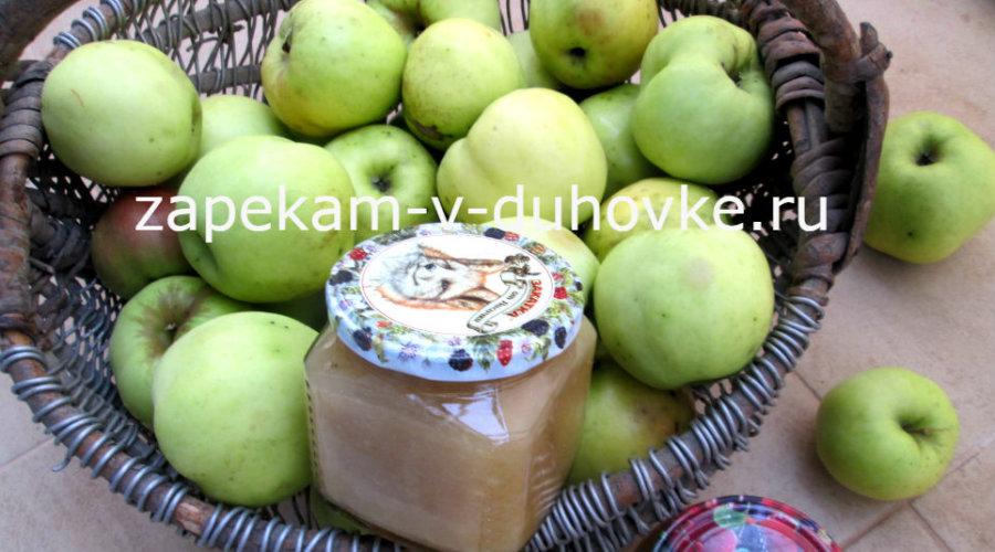 """Яблочное пюре со вкусом """"Неженки"""""""