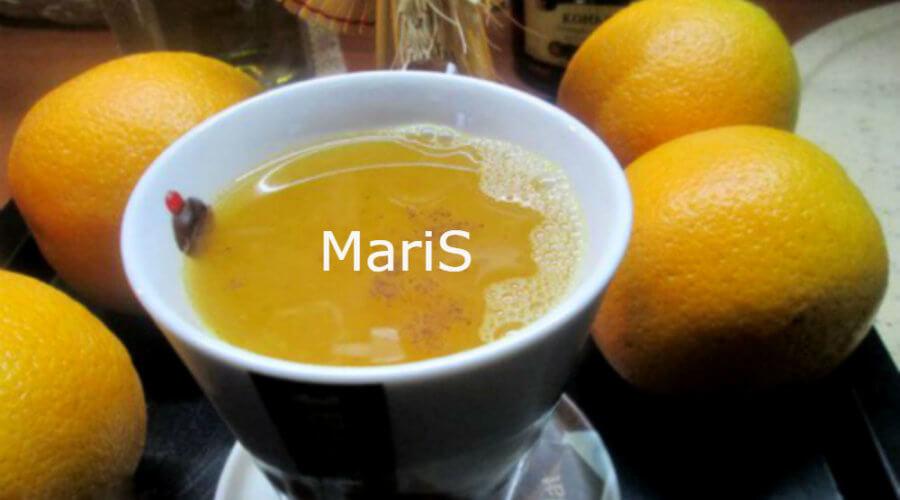 """Чай цитрусовый с коньяком """"Парижские тайны"""""""