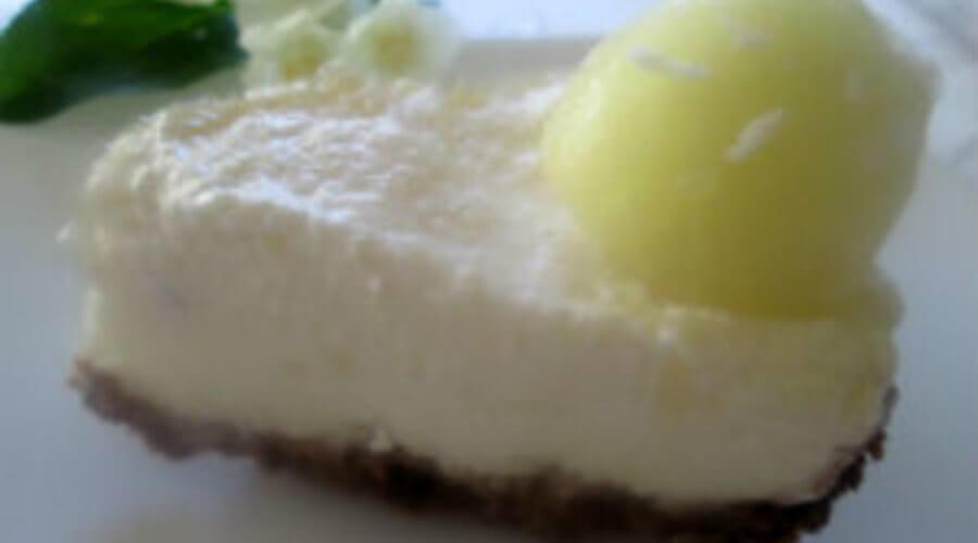 торт-мороженое из дыни