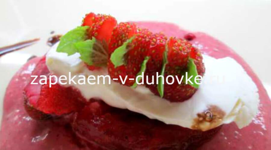 Десертное ягодное карпаччо