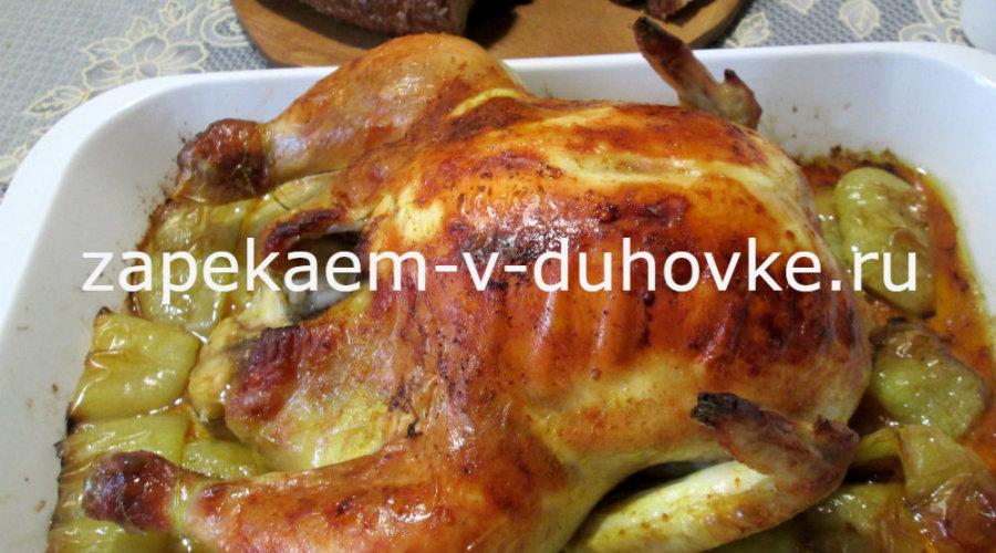 курица с имбирем запеченная в духовке