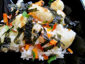 Рис с цветной капустой и нори