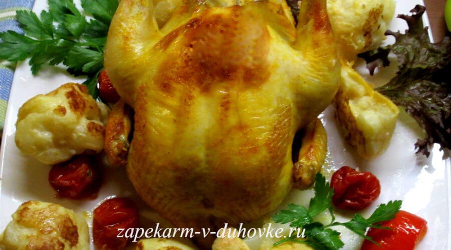 цыпленок запеченный в йогуртовом маринаде