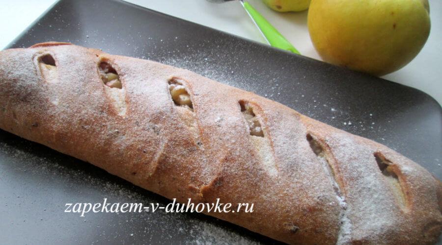 Рецепт Венский яблочный штрудель фото