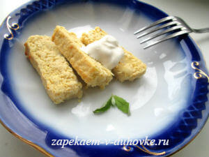 суфле-запеканка из куриной грудки с тыквой и цукини
