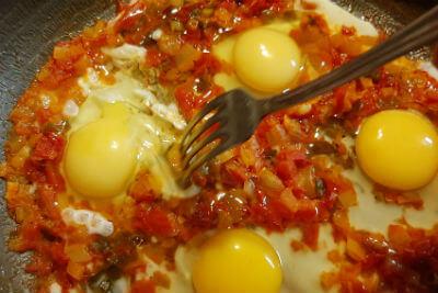 менемен - завтрак по-турецки