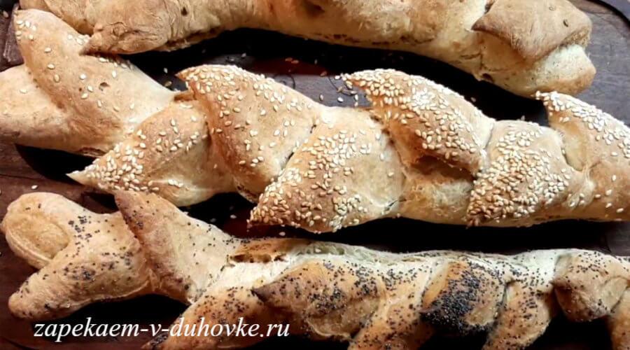 пшенично-ржаные багеты мгновенного изготовления